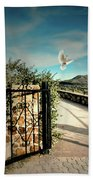 Gate To The Martyrs Beach Towel