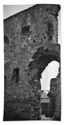 Gatehouse At Nenagh Castle Ireland Beach Towel