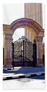 Gates Of Archangel Michael Cathedral Beach Towel