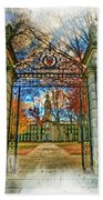 Gates To Knowledge Princeton University Beach Towel