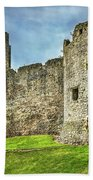 Gateway To Chepstow Castle Beach Towel