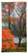 Gateway To Portland Japanese Garden Beach Towel