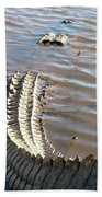 Gator Tail Beach Towel