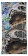 Gaudi Balcony Beach Towel