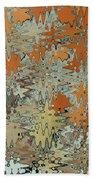 Gaudi Mozaic Abstraction Beach Towel