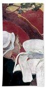 Gaugin: Vision, 1888 Beach Sheet