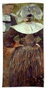 Gauguin: Breton Women Beach Towel