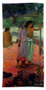 Gauguin: Call, 1902 Beach Sheet