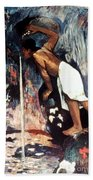Gauguin: Pape Moe, 1892 Beach Towel