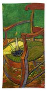 Gauguin's Chair Beach Towel