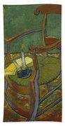 Gauguin's Chair Beach Towel