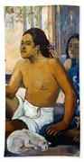 Gauguin:tahiti Women Beach Sheet