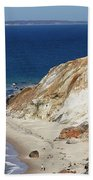 Gay Head Cliffs And Beach Beach Towel