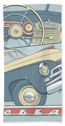 Gaz 20 Beach Towel