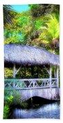 Gazebo In Paradise Beach Towel