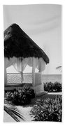 Gazebo On The Ocean Beach Towel