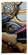 Geared For Art Beach Towel by Bob Christopher