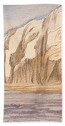 Gebel Abu Fodde By Edward Lear  1867 Beach Towel