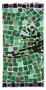 Gecko Beach Towel by Jamie Frier