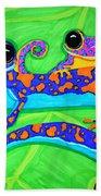 Geckos Beach Towel