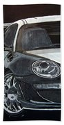 Gemballa Porsche Right Beach Towel
