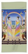 Gemini / Iris And Arke Beach Towel