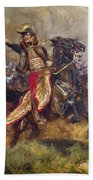 General Antoine-charles-louis Lasalle Beach Towel