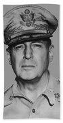General Douglas Macarthur Beach Towel by War Is Hell Store