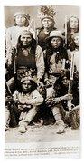 General George Cook Apache Army Beach Towel
