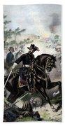 General Grant During Battle Beach Sheet