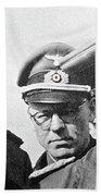 Generalfeldmarschall  Erwin Rommel And Staff Number 1 North Africa 1942 Color Added 2016 Beach Towel