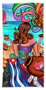 Generation Spanglish Beach Sheet