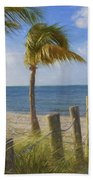 Gentle Breeze At The Beach Beach Towel