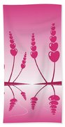 Gentle Hearts Beach Towel