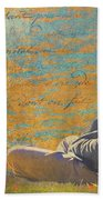Gentle Sunshine Beach Towel