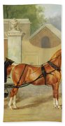 Gentlemen's Carriages - A Cabriolet Beach Towel
