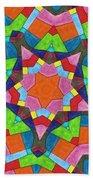 Geometric Pattern 1 Beach Towel