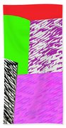 Geometric Shapes 1 Beach Towel