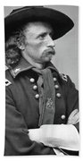 George Armstrong Custer Beach Towel