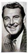 George Brent, Vintage Actor Beach Towel