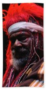 George Clinton Of Parliament Funkadelic Beach Towel