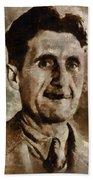 George Orwell Author Beach Towel