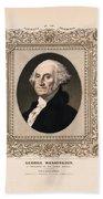 George Washington - Vintage Color Portrait Beach Towel