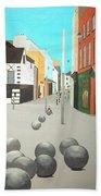 George's Street, Waterford Beach Towel