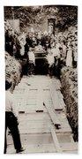 Georgetown Section Of Wilkes Barre Twp. June 5 1919 Beach Towel