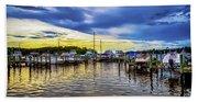 Georgetown Yacht Basin Beach Towel