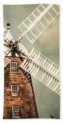 Georgian Stone Windmill  Beach Towel