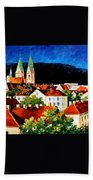 Germany Freiburg Beach Towel