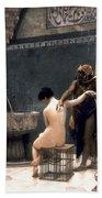Gerome: The Bath, 1880 Beach Towel