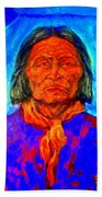 Geromino - Chiricahua Apache Leader Beach Towel